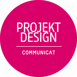 Deutsches Badge: Projekt Design by Communicat