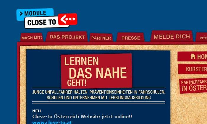 Close To Website