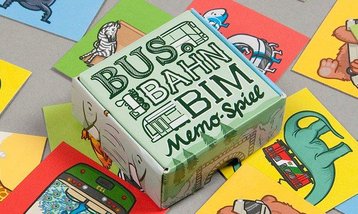 Bus Bahn Bim Memo-Spiel