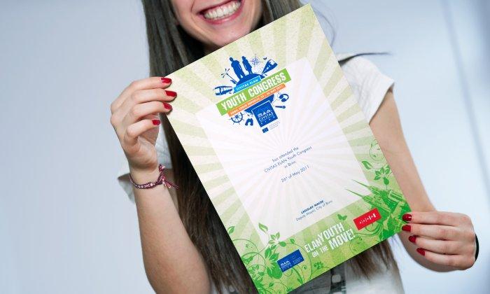 Urkunde Youth Congress