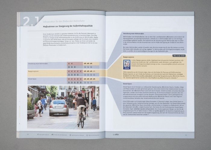 Kosteneffiziente Maßnahmen zur Förderung des Radverkehrs