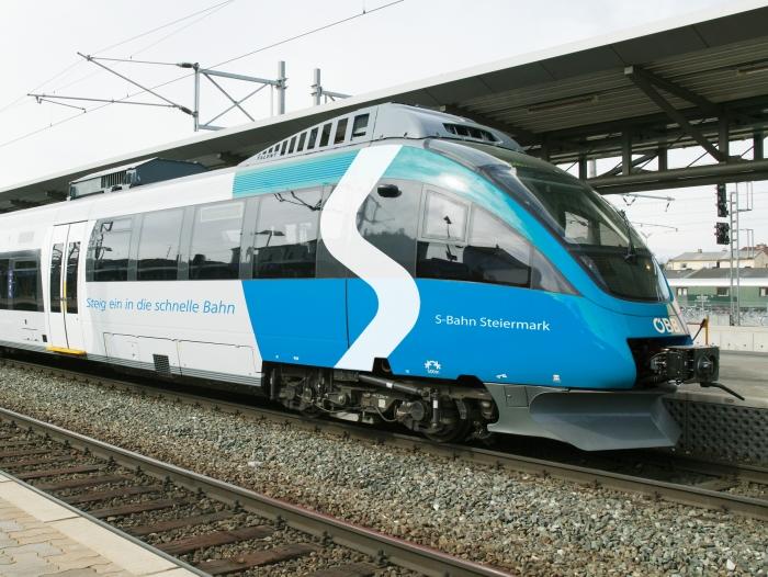 S-Bahn Steiermark, Garnitur beklebt