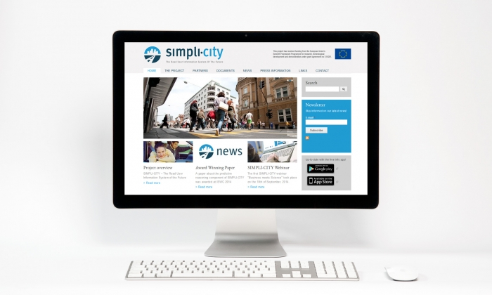 Webseite SIMPLI-CITY