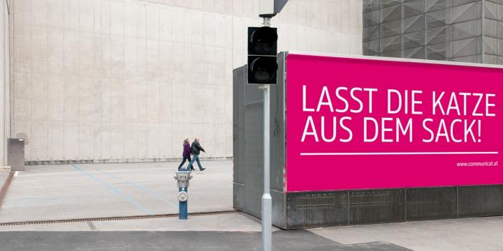 Communicat Teaser Plakat
